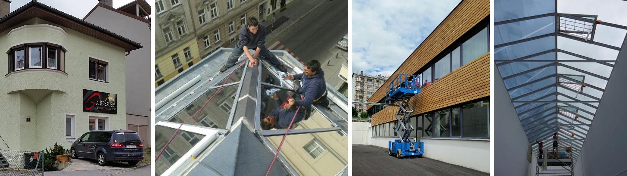 Gaderbauer Fensterfolien, Sichtschutzfolien und Sonnenschutzfolien