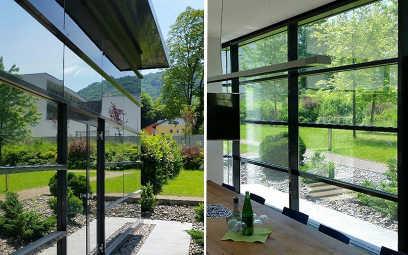 Blendschutzfolie und Sonnenschutzfolie für Fenster